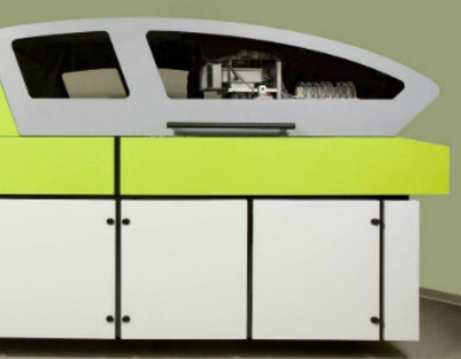 מכונה להדפסה על קרמיקה