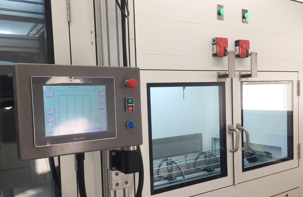 מכונה לייצור חומר פולימרי